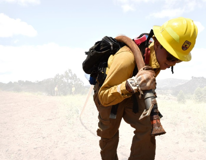A Career in Wildland Firefighting